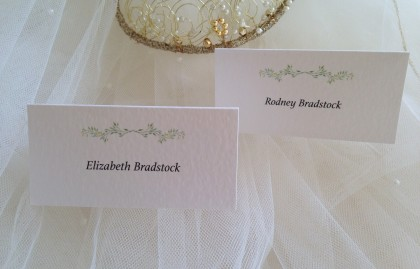 Woodland Place Cards