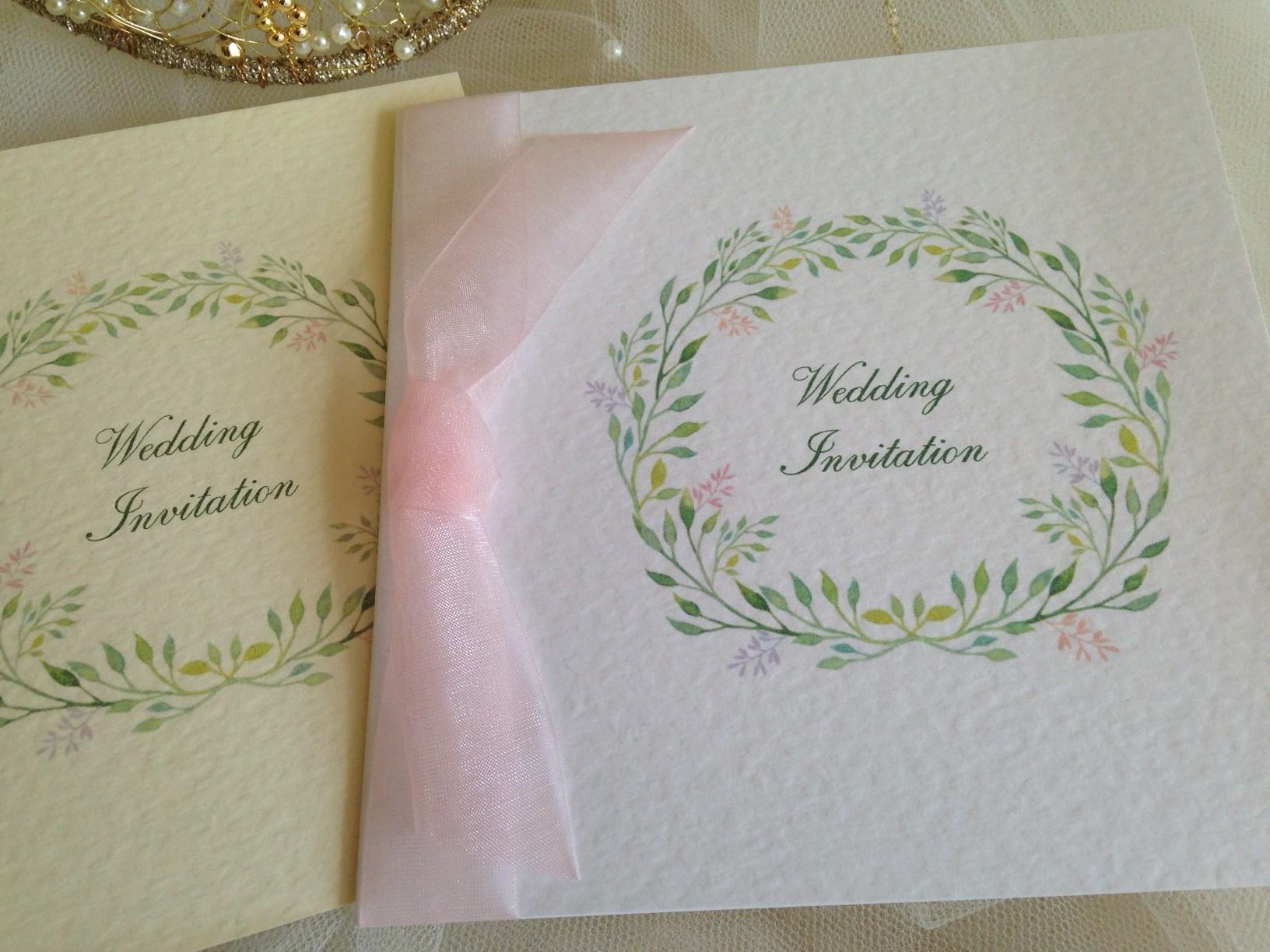 Woodland Wedding Invitations from £1.25