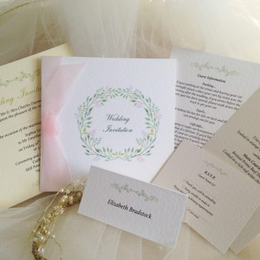 New Wedding Stationery Ranges