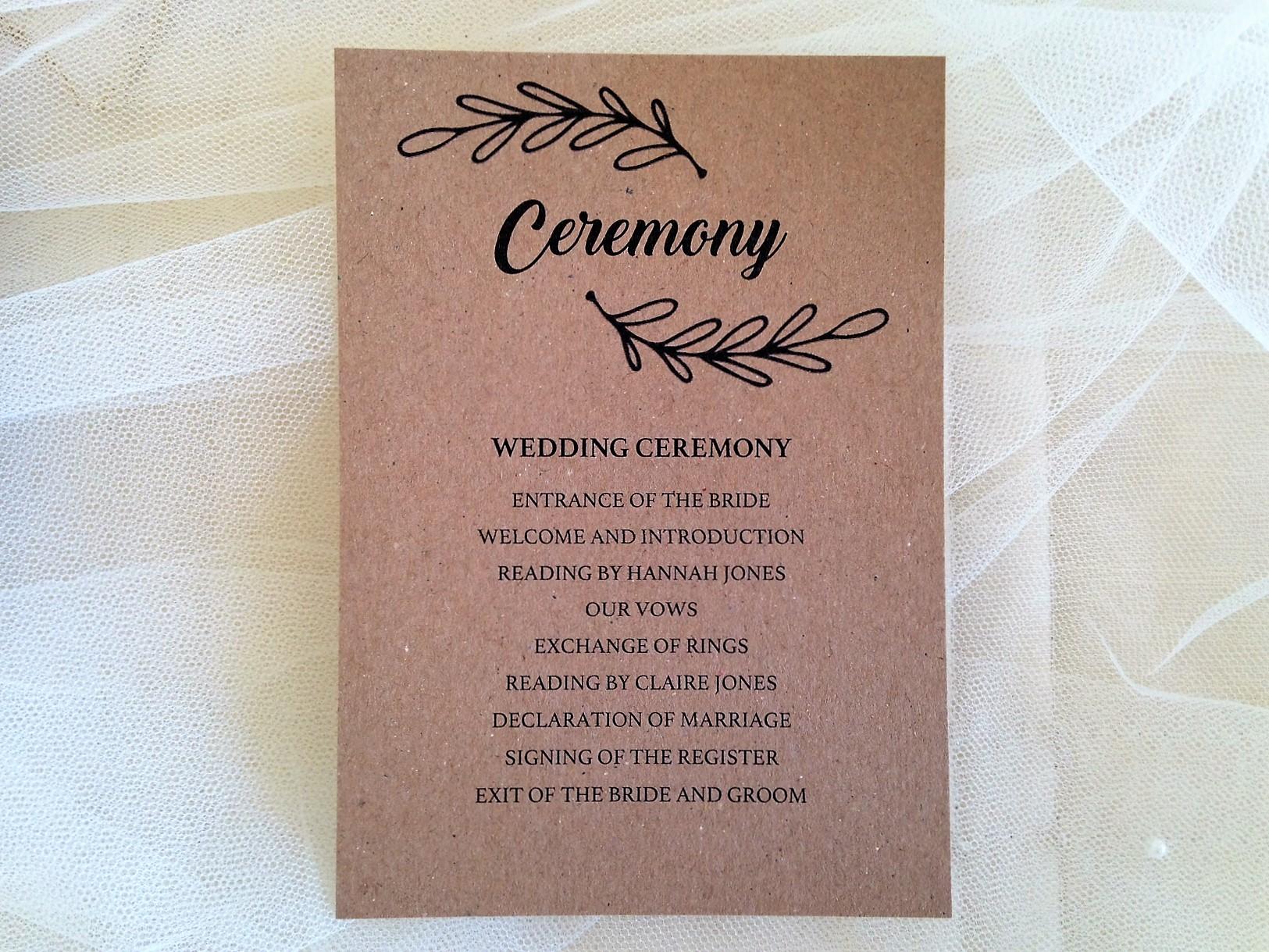 Wreath Wedding Stationery