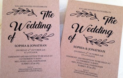 Wedding Invites Vintage for beautiful invitations sample