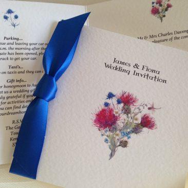 Thistle Wedding Invitations