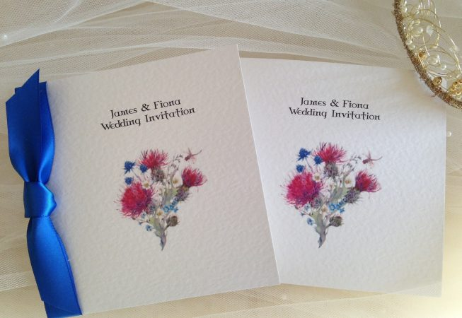 Thistle Wedding Invitations