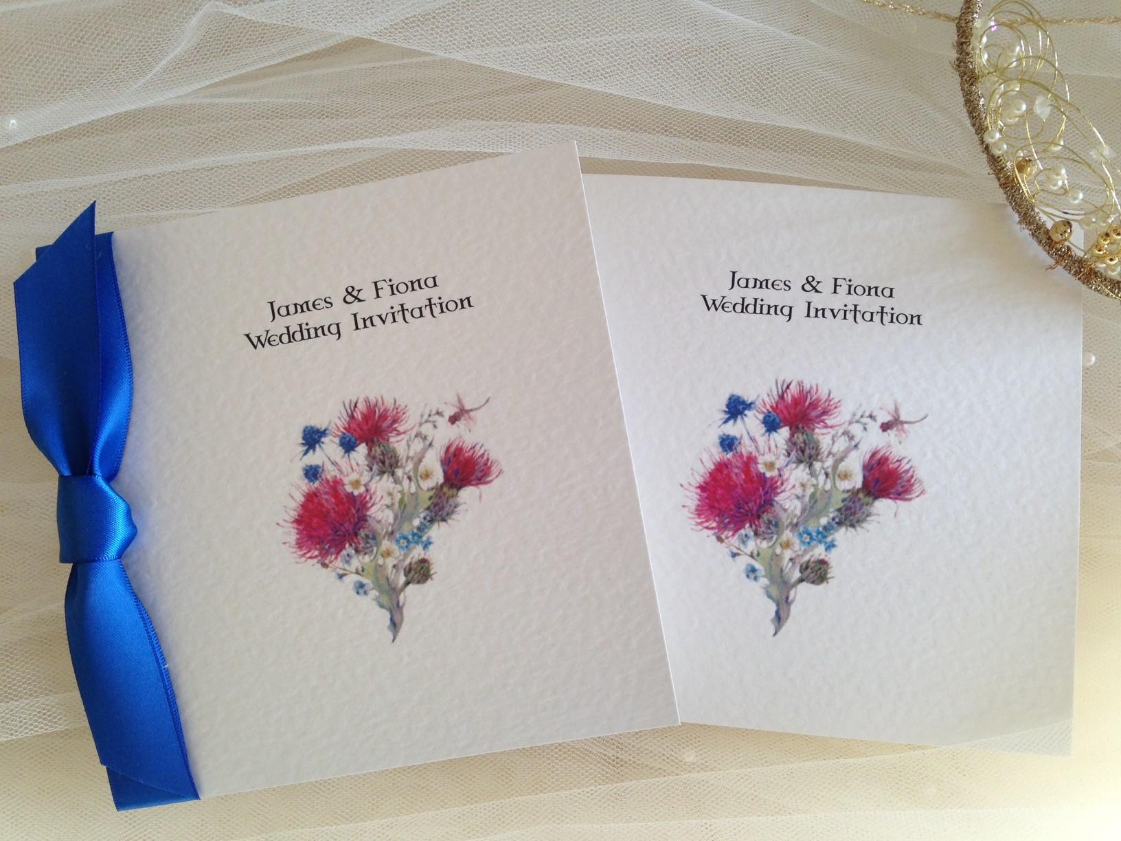 Thistle Wedding Invitations | Wedding Invitations