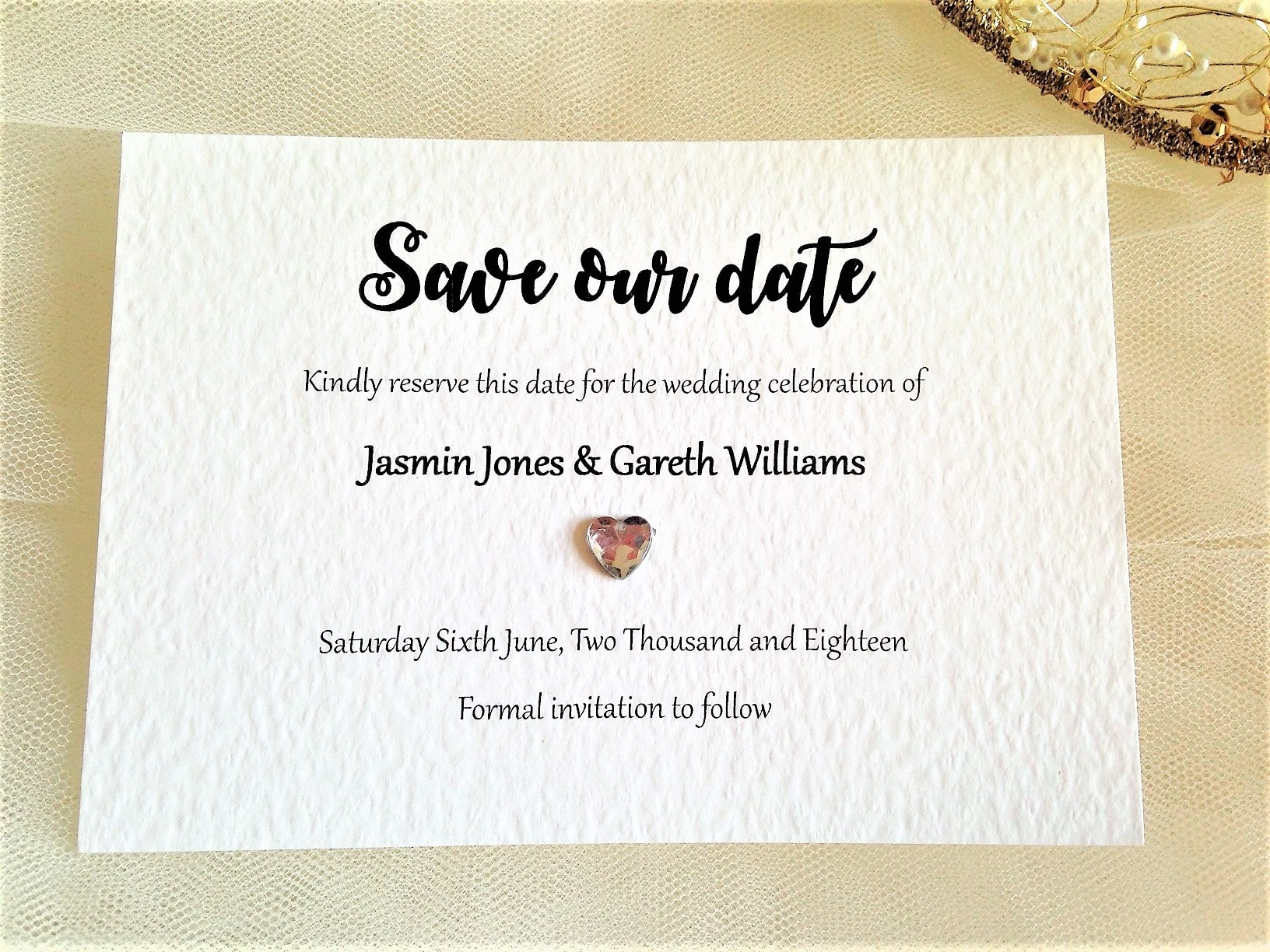Canterbury Save The Date Cards