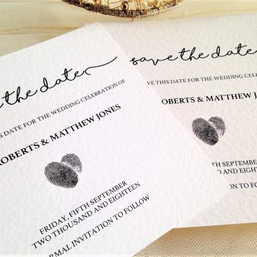 Perfect Match Save The Date Cards