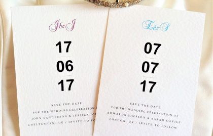 Bayswater Save The Date Cards