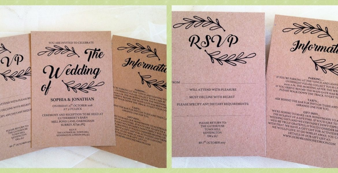 Wedding invitations wedding stationery affordable prices Wedding invitation cost