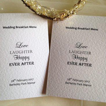 Love Laughter Menu Books – Small A6