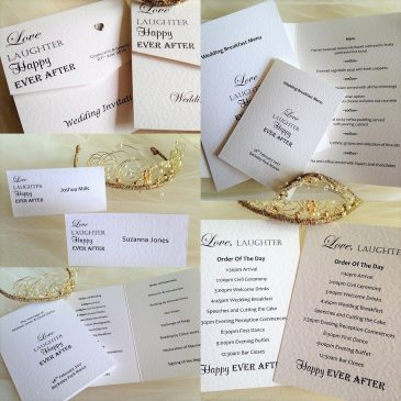 New Wedding Invitations and Wedding Stationery