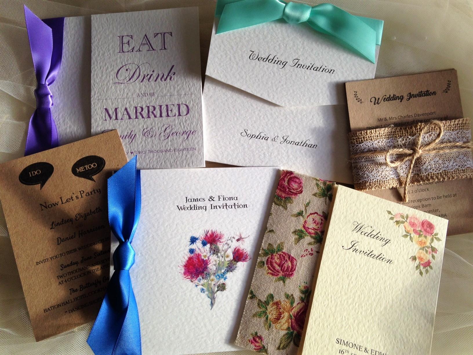 Wedding Invites Personalised: Personalised Wedding Invitations