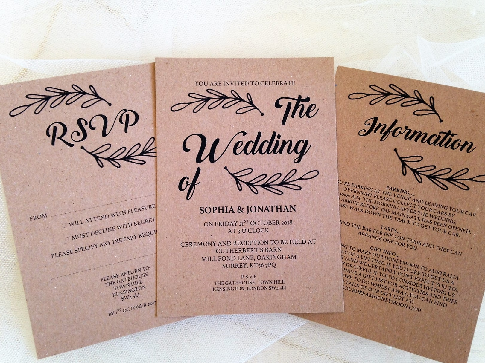 How Do You Make Your Own Wedding Invitations
