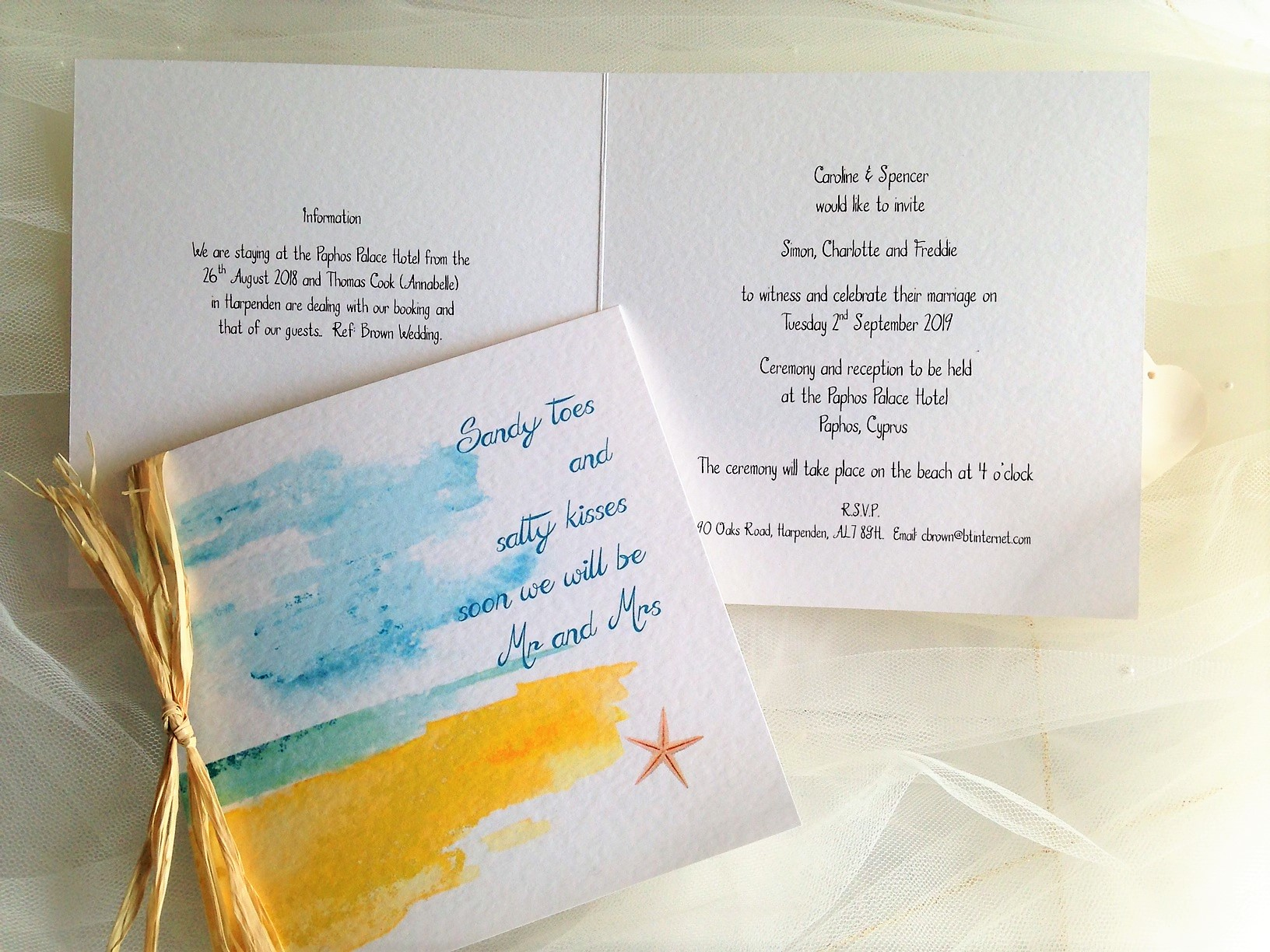 Beach Wedding Invitations From 163 1 25 Each Destination