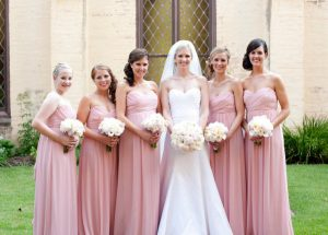 Dusky Rose Bridesmaids