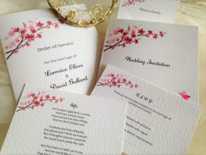 Cherry Blossom Wedding Stationery