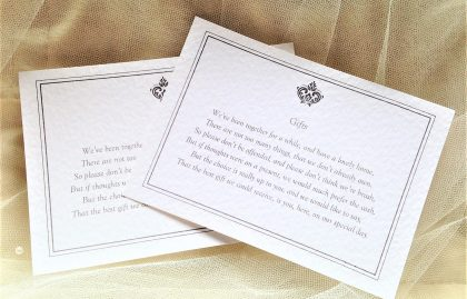 Baroque Information Cards