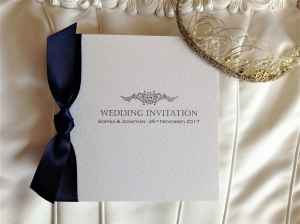Motif Wedding Invitations