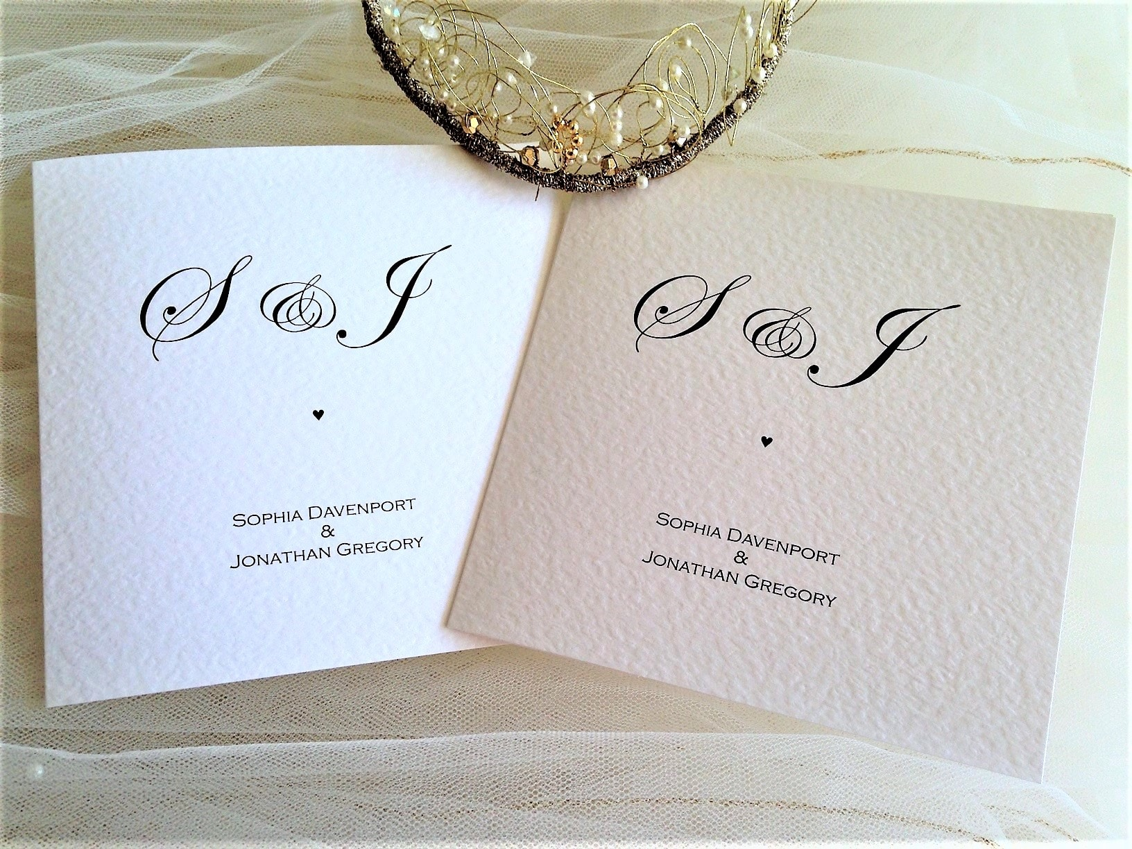 Oxford Wedding Invitations - Daisy Chain Invites