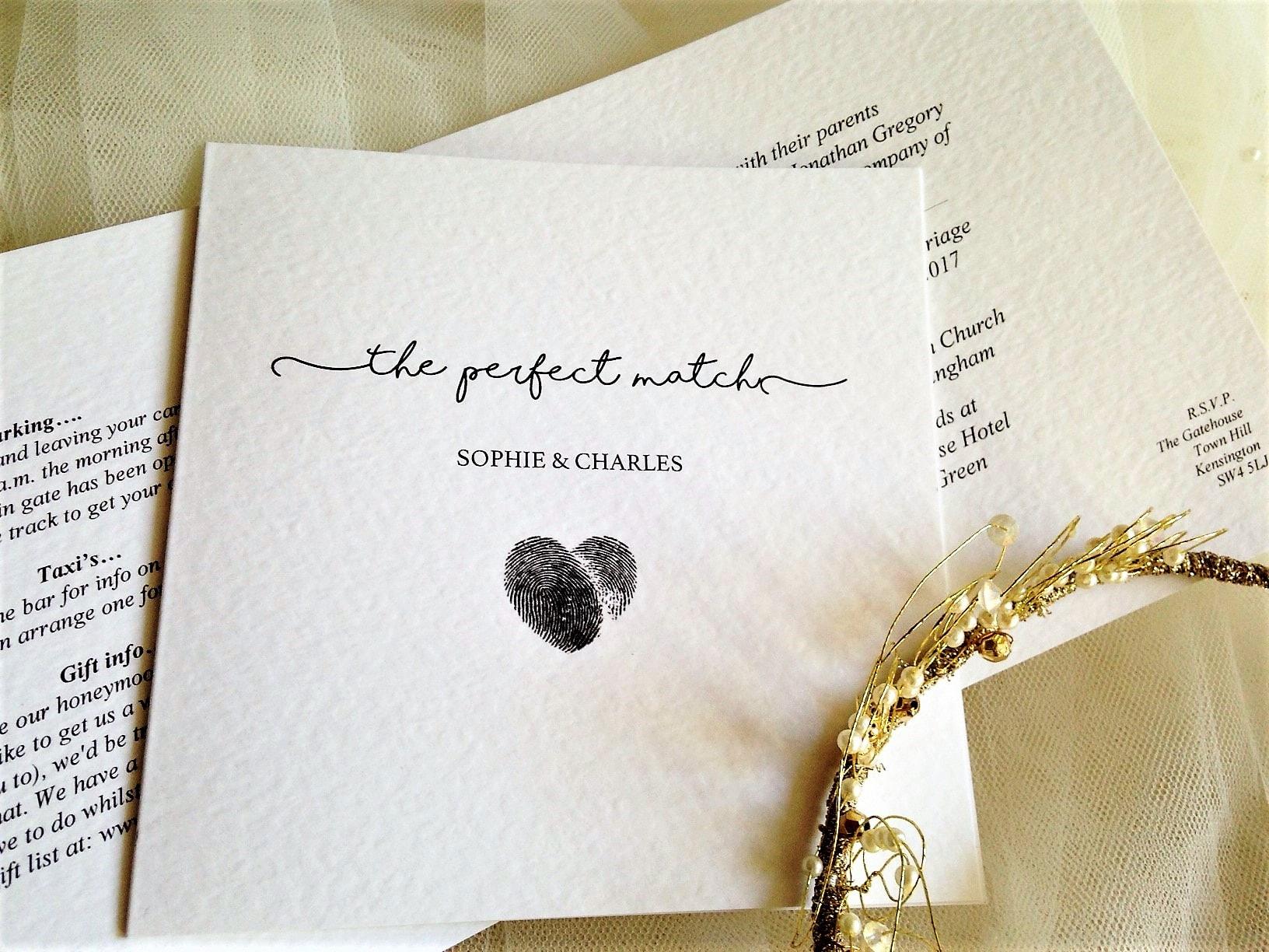 Black Wedding Invitations | Black Wedding Colour Scheme