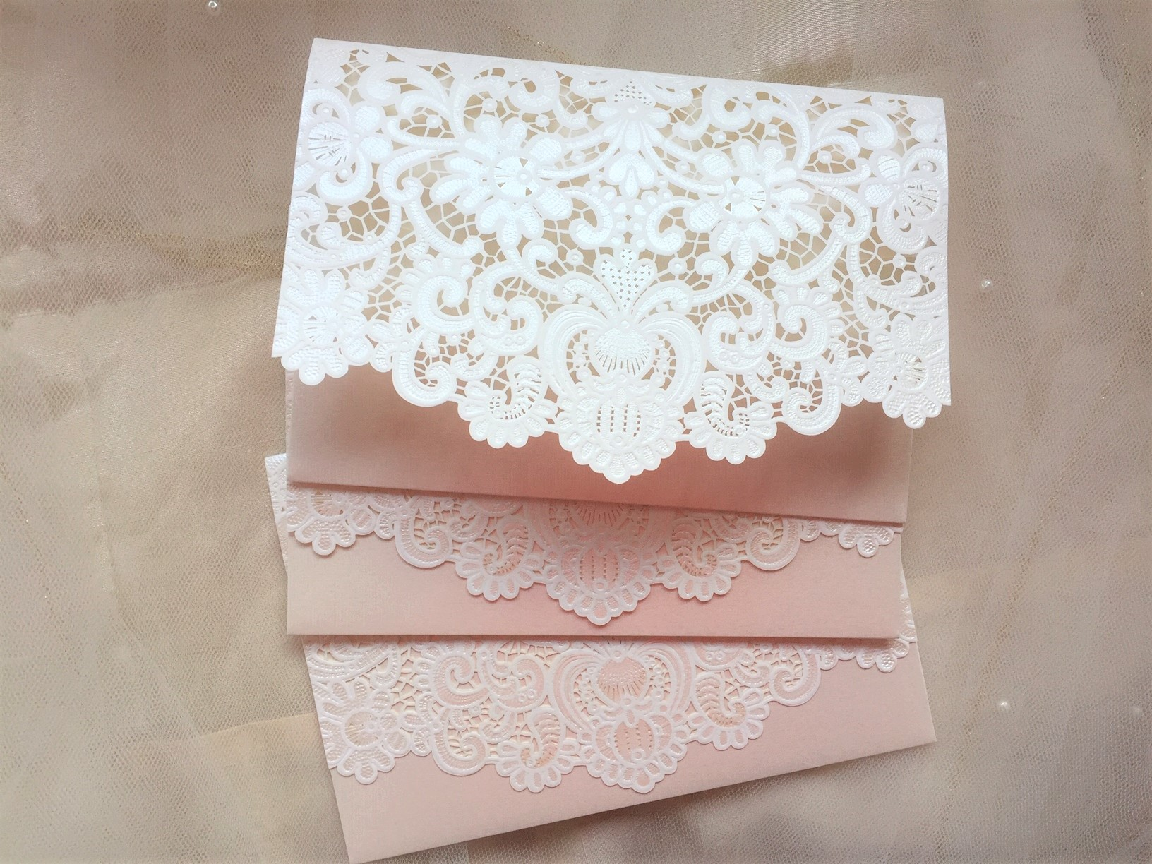 How Do You Make Your Own Wedding Invitations: DIY Laser Cut Wallets