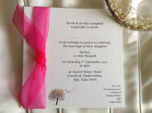 Love Tree Wedding Invitations