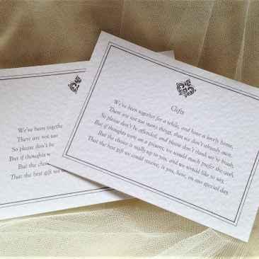 Baroque Information Cards