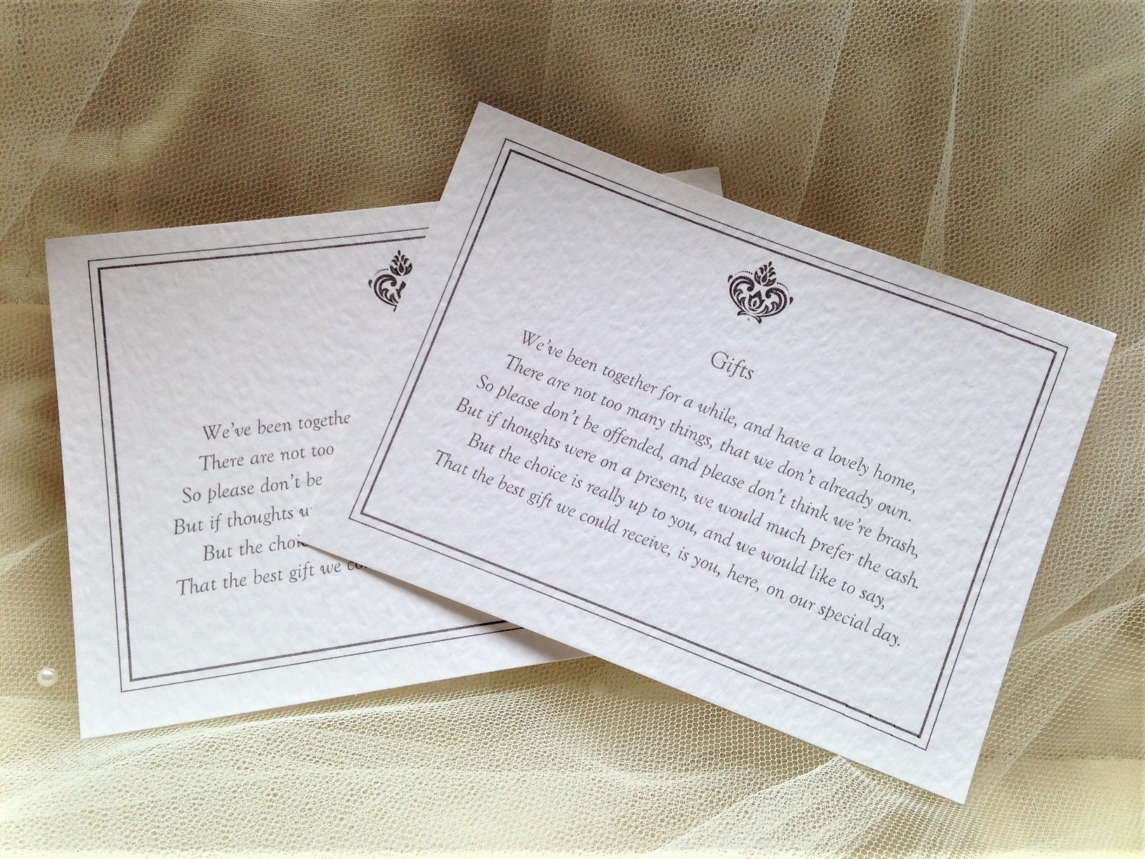 Baroque RSVP Postcards