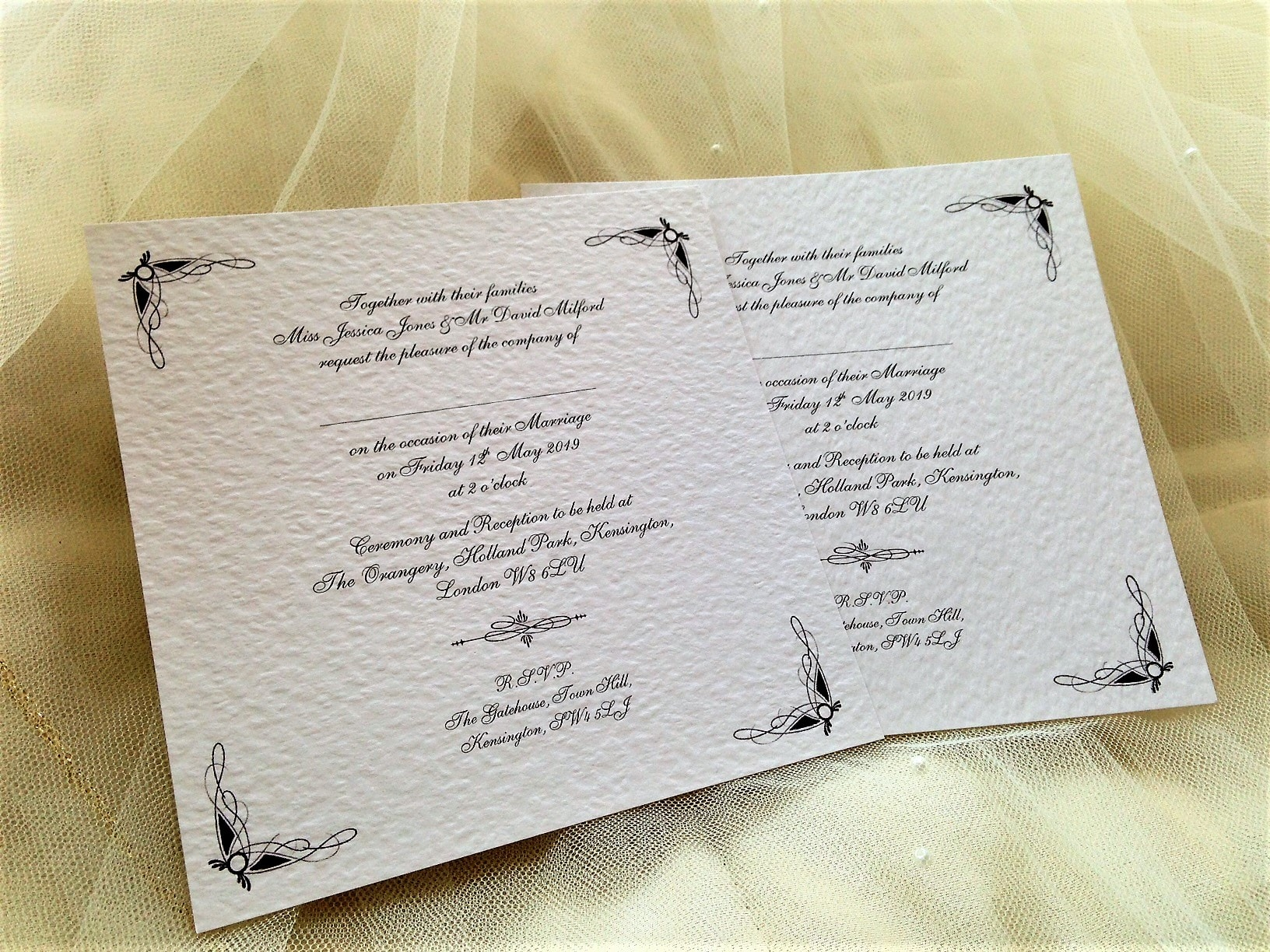 Ritz Wedding Invitations