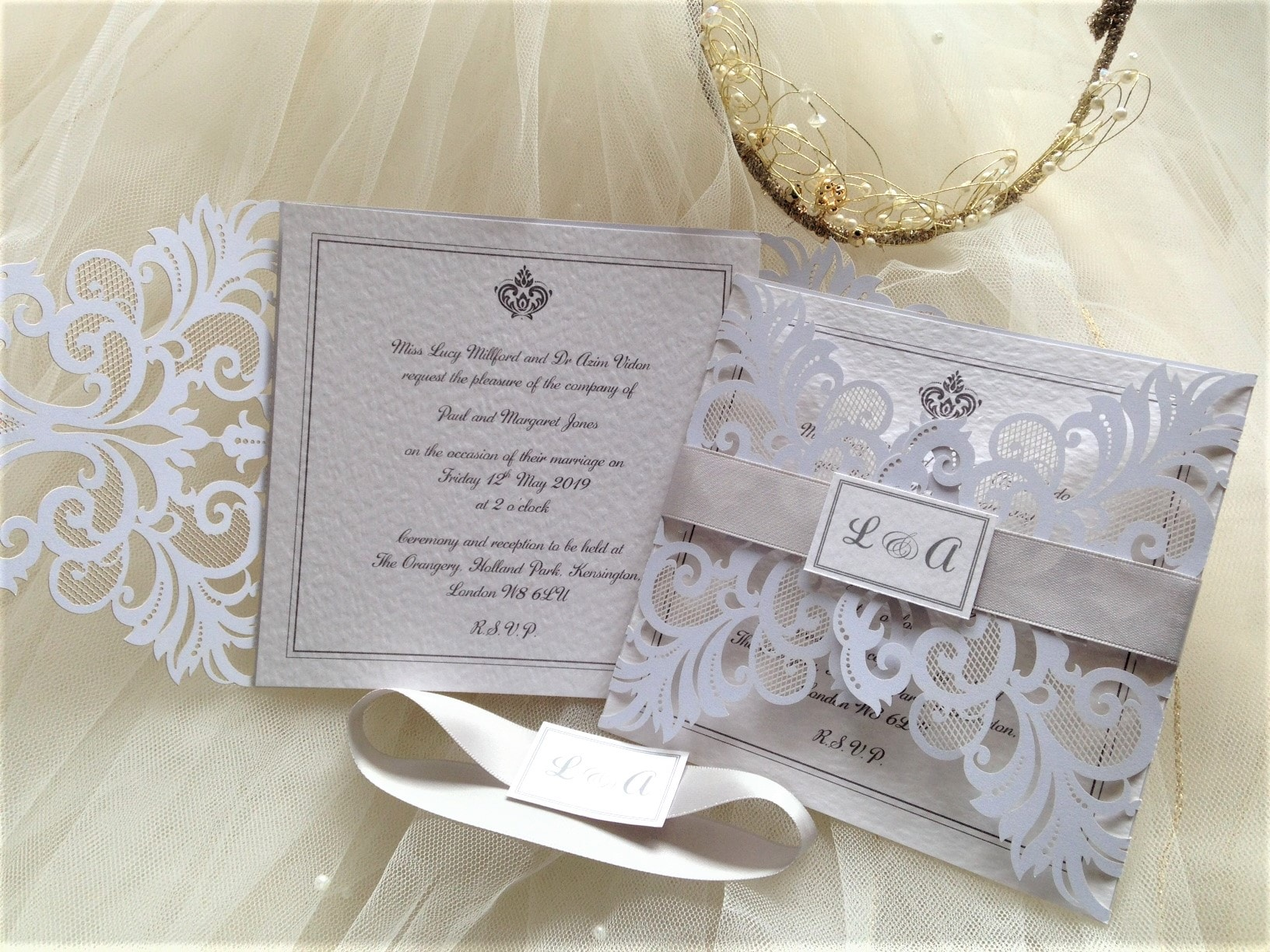 Cheap Laser Cut Wedding Invitations Uk: Affordable Wedding Invites 60p