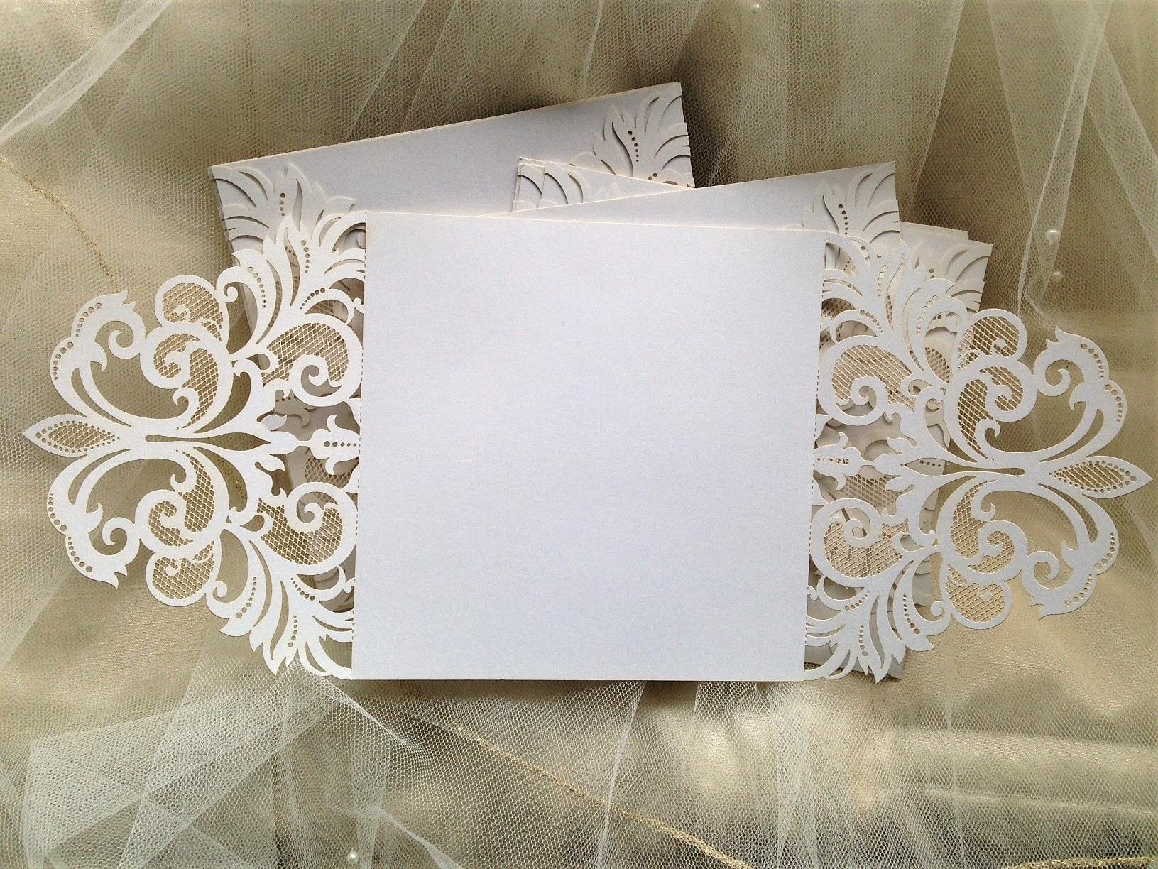 Laser Cut Wedding Invites: DIY Laser Cut Wedding Invitations £1 Each