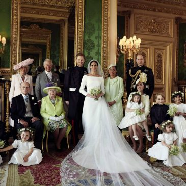 Royal Wedding Official Photographs Released