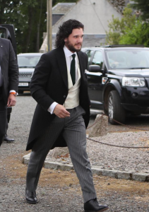 Kit harington and Rose Leslie wedding - Game of Thrones Wedding