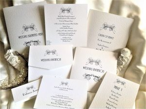 Art Deco Wedding Stationery Range