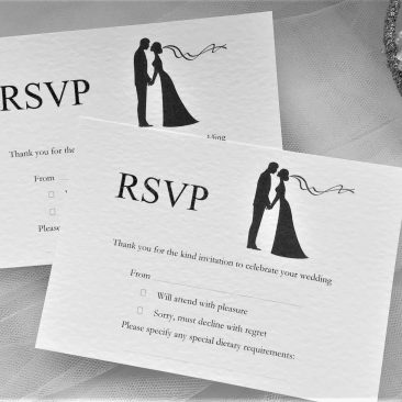 Finally RSVP Cards and Envelopes