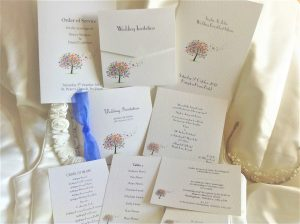 Love Tree Wedding Stationery Range