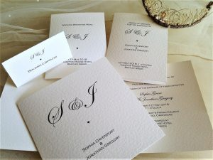 Oxford Wedding Stationery Range