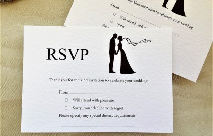 Finally RSVP Postcards