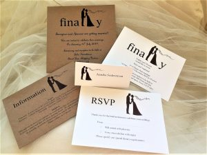 Finally Wedding Stationery