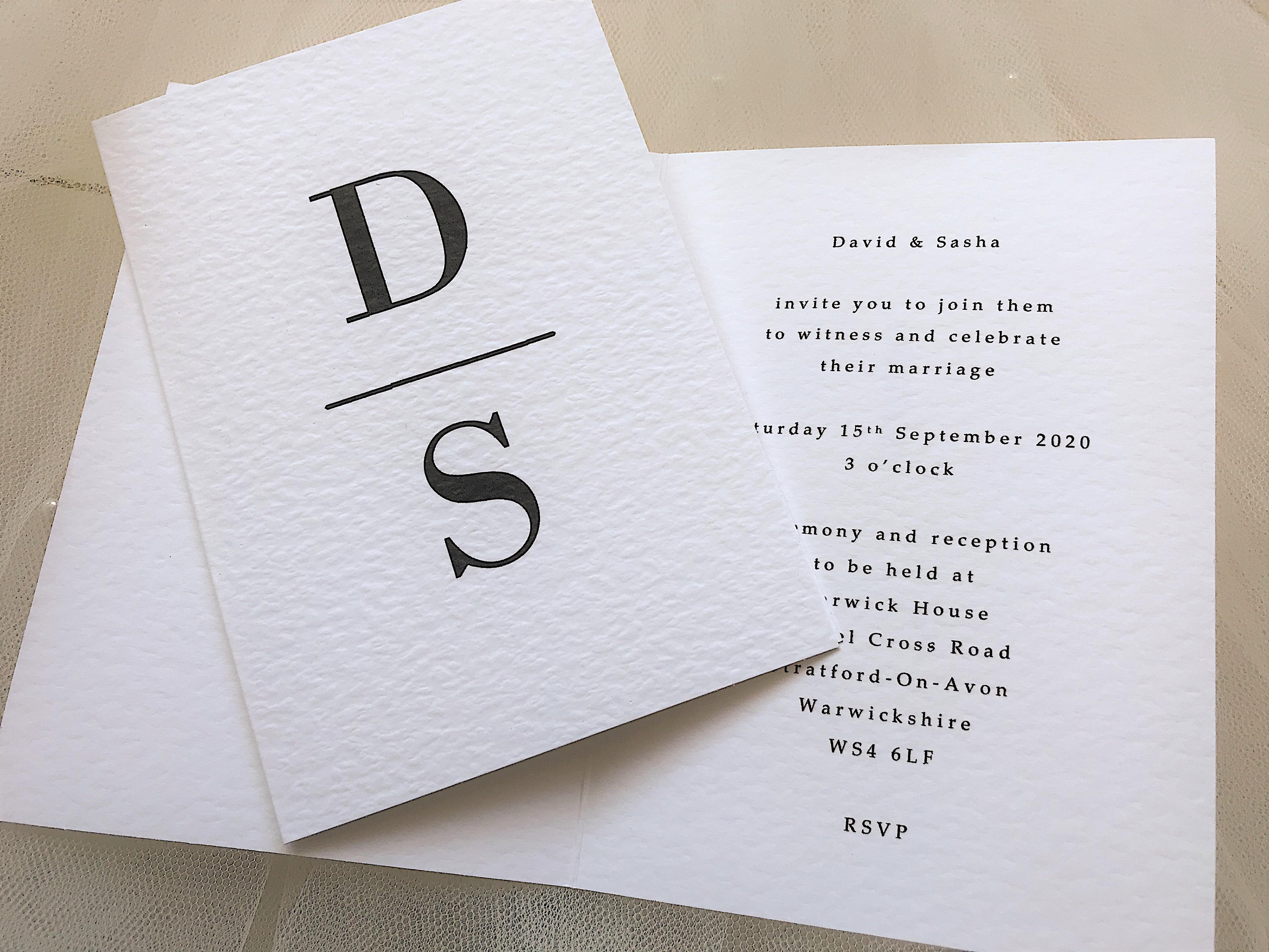 Simplicity Wedding Invitations