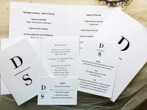 Simplicity Wedding Stationery