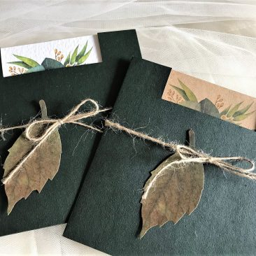 Autumn Leaf Wedding Invitations