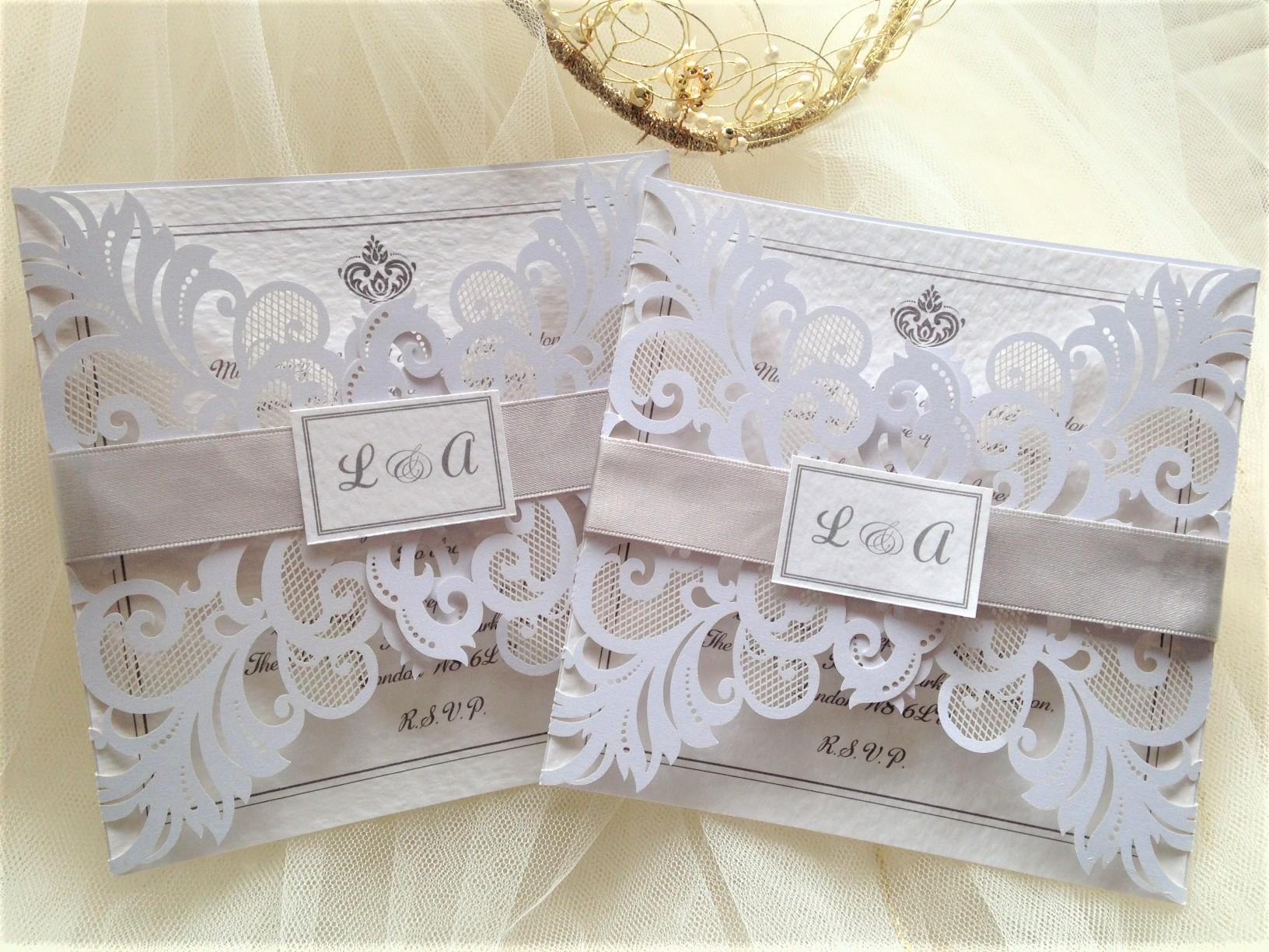 Silver Wedding Invitations Silver Wedding Colours