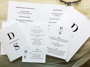 Wedding Stationery Ranges
