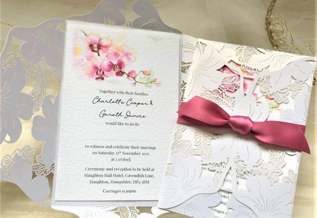 Fuchsia Wedding Invitations