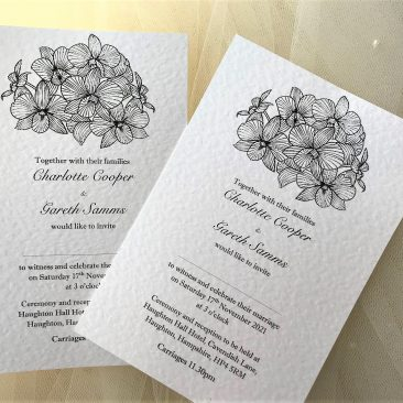 Lily Wedding Invitations